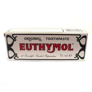 Euthymol Original Toothpaste back in stock £1.95 @ Superdrug