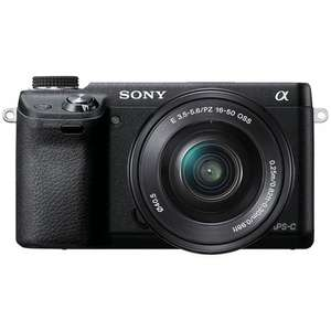 Sony NEX-6L Black with 16-50mm Lens £499 reduced to £399. John Lewis Price matching Great Western Cameras