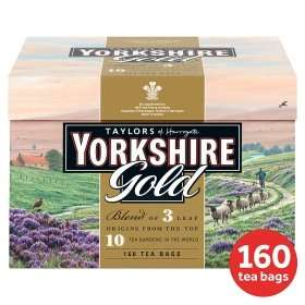 Yorkshire Tea Gold 160 Tea Bags for £2 @ ASDA (was £5.79) Online & Instore deal