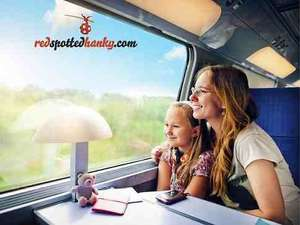 £16 voucher to spend on Rail Travel at redspottedhanky.com for £8 @ Amazon local deals + possible TCB/Quidco (they have a price promise too!)