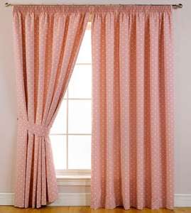 Dotty Blackout curtains - Nursery? - £24.30 @ Terrys Fabrics