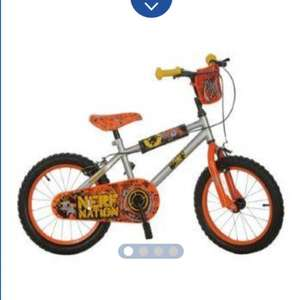 Nerf 16 inch boys bike -  £38.94 delivered @ Sports Direct
