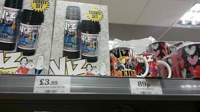 Viz Flask/Cup Set £3.99 @ Home Bargains
