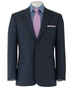 Navy Blue Two Button Tailored Suit Jacket - £49.95 - Saville Row Company