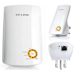 TP-Link TL-WA750RE 150Mbps Universal Wi-Fi Range Extender/Wi-Fi Booster - Amazon £14.99 delivered