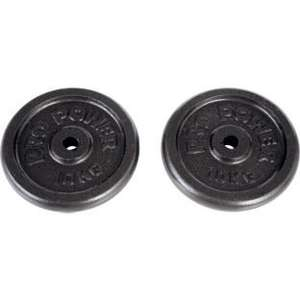 60kg Pro Power Cast Iron Weight Plates for £69.97 (store pickup) @ Argos