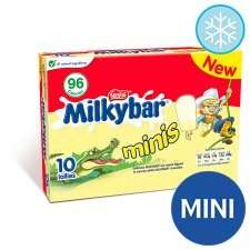 Milky bar mini ice lollies £1.24 @ tesco