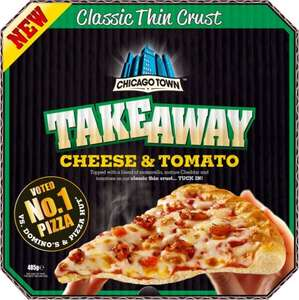 2 Chicago Town Takeaway Cheese & Tomato 485G Pizzas for £3.00 (or £1.75 each) @ Heron Foods