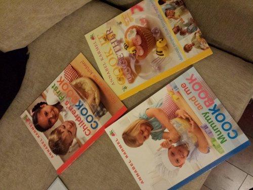 Annabel Karmel children cook books for £1 in Poundland