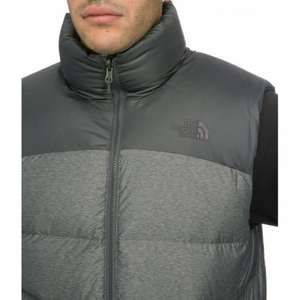 North Face Mens Nuptse 2 Gilet / Vest - £50.38 @ Amazon