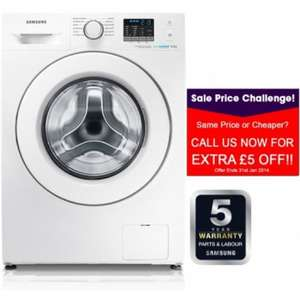 Samsung Eco bubble WF80F5E0W2W £347 + 5 year warranty  delivered + 7 nights hotel stay for2 free @ my choice.co.uk