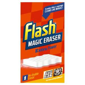 Flash Magic Eraser Extra Power for 99p at Wilko