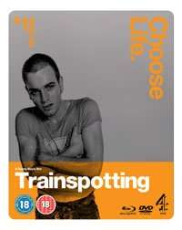 Trainspotting Steelbook (DVD/Blu-ray) at Channel 4 DVD: usually £19.85, now in a 2 for £10 offer