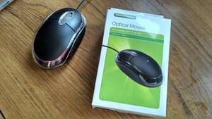 USB Optical Mouse (three buttons) £1.00 @ Poundland