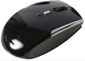 Wireless Optical Mouse Black/Silver***3 Buttons***Batteries Included***@ CPC £1.79 Delivered