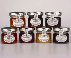 Tiptree mini jams at 35p each or 4 for £1.20 at Morrisons