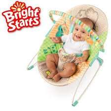 Tesco - Bright Starts Patchwork Zoo Baby Bouncer £12.00 was £16.00