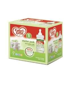 Cow And Gate Starter Pack From Newborn Stage 1 £13.99 @ Mothercare