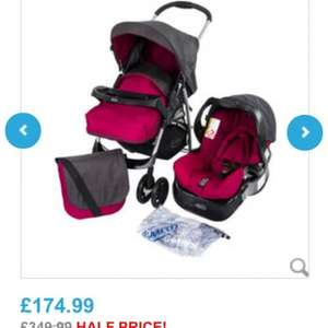 Graco candy rock travel system £169.99 babies r us free delivery