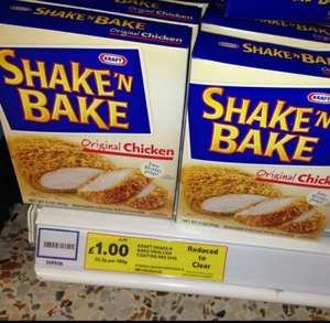 Kraft Shake 'n' Bake for Chicken £1 at Tesco (American Food Aisle)