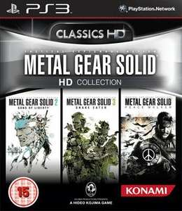 Metal Gear Solid HD Collection - PS3 & Xbox 360 - £12.99 preowned @ Game online