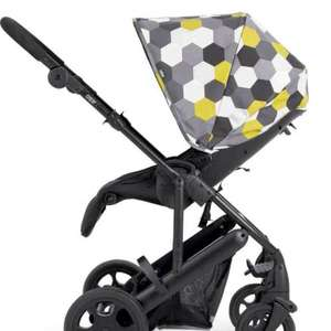 Argos - Mamas and Papas Pixo Hexagon Pushchair Package - Black. 102/6492   (4 Reviews) Half Price £224.99 was £449.99