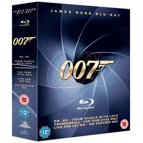 James Bond Box Set Blu-ray £16.99 free p&p @ The Hut