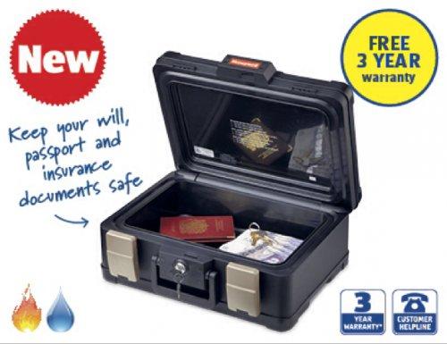 A4 Fireproof Document safe £34.99 @ Aldi