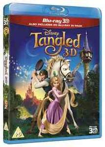 Tangled 3D Blu-ray - Now available @ Disney Movie Rewards