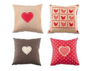 ALDI CUSHION 4 DESIGNS Size 40 x 40cm £4.99