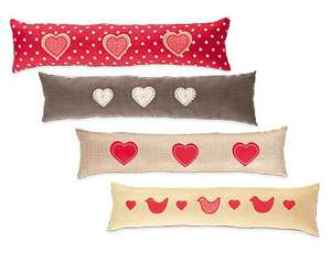 ALDI Draught Excluder 4 designs Size: 22 x 90cm £3.99