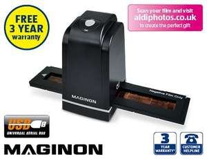 Maginon FS-500 Film Scanner  £29.99 @ Aldi from Sunday 16th March