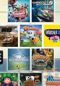 PS Vita Mega Pack (10 Games) inc LBP, Wipeout, Lemmings @ Gamepointsnow - £10.99