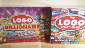 Logo billionaire £14 and Logo board game £17. Tesco instore