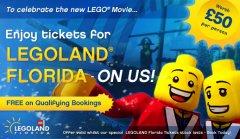 Free Legoland tix with Orlando theme park tickets