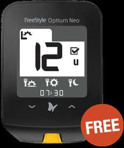FreeStyle Optium Neo blood glucose meter - FREE @ abbottdiabetescare.co.uk