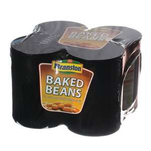 Branston baked beans 4pack 94p/Loose vine tomatoes 99p per kg/Closed cup mushrooms 42p/6 British smoked maple cure bacon rashers 99p @ Lidl (Half price weekend offers on Saturday 22nd & sunday 23rd march only)