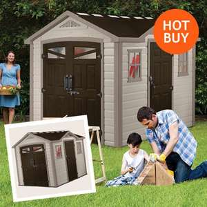 Keter Summit Apex 9 x 8ft Shed with double entry door, 10 year warranty,£799.99 @ Costco