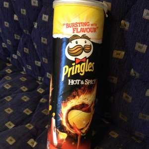 Hot & spicy pringles £0.99 @ 99p store!