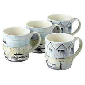 Tu Coastal mugs 4 pack - £2.25 @ Sainsburys