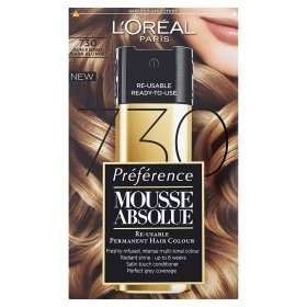 L'Oreal Preference Mousse Hair Dye £10.99 each or 2 for £8! @ Asda