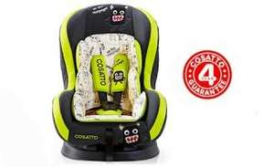 Cosatto Moova Car Seat - Little Monster group 1 @ bounty £74.95