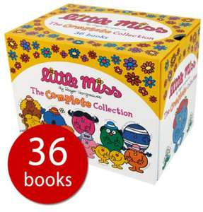 Little Miss Library Collection (36 book) £15 delivered at the Book People