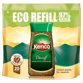 Kenco Decaff/ Rich/ Smooth Instant Coffee Eco Refill £3 @ ASDA