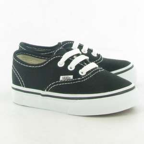 Vans Authentic Kids Lace Shoes in Black - £15 @ Jakes Shoes