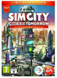SimCity Cities of Tomorrow Expansion Pack - Limited Edition Origin Key - £4.99 at SimplyCDKeys