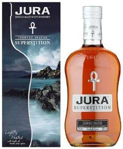 Isle Of Jura Superstition Whisky 70 cl £21 @ Amazon
