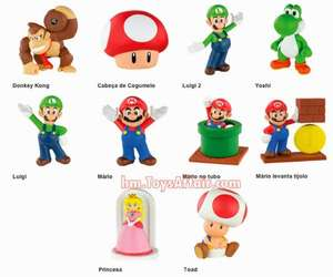Free Mario Toy with Happy Meal @ Mcdonalds Starts 19th March