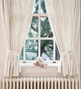 Louberry Bear Lightlock Curtains & Tiebacks £20 from gro store