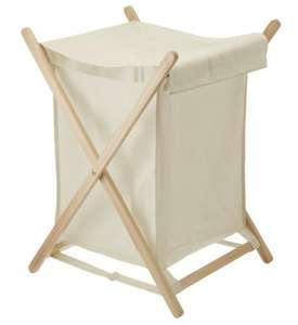 Canvas laundry basket @ Sainsburys £0.80 instore